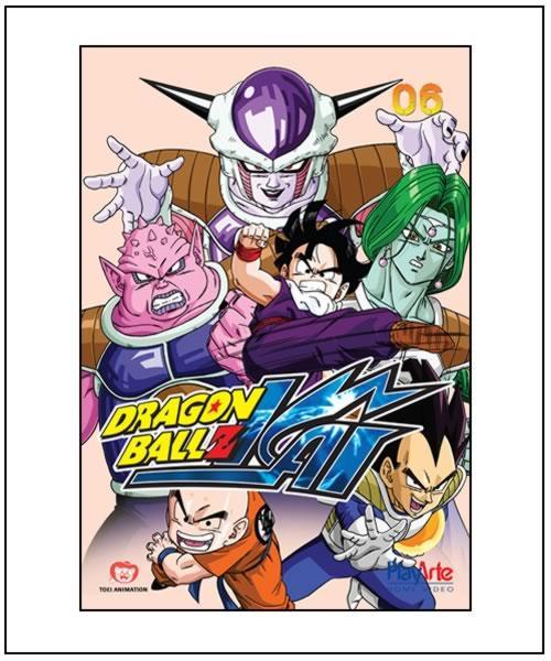 PlayArte Lança Novo Box de Dragon Ball Kai. Kai6