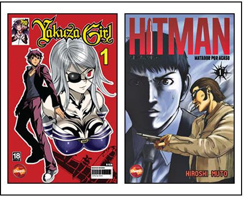 Nas Bancas: Novidades da Semana Mangas