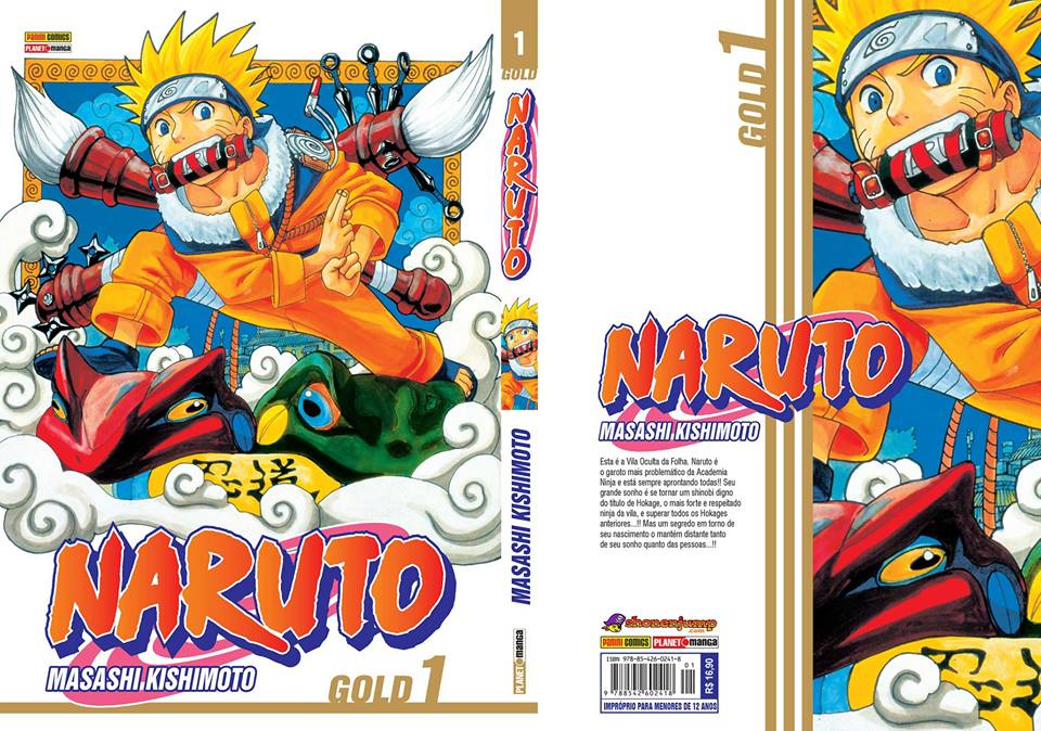 Naruto capa completa