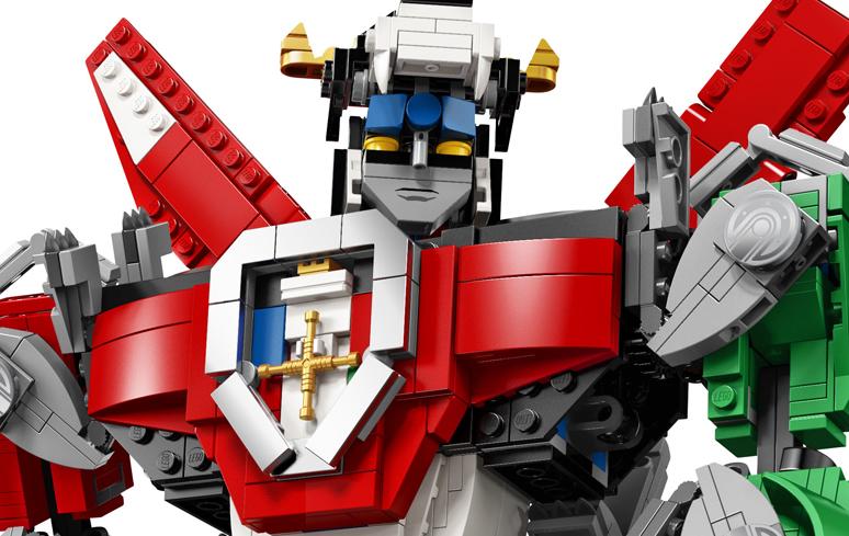 Clássico: robô Voltron vira colecionável da LEGO