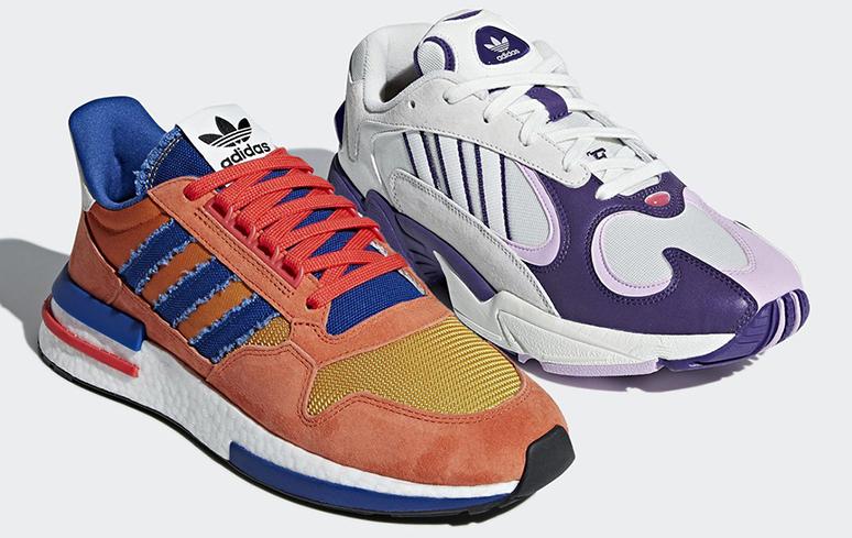Dragon Ball: Coleção de tênis da Adidas tem lançamento para este mês