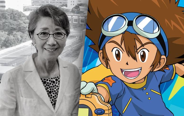 "Morre Toshiko Fujita, a voz original do Tai de ""Digimon"""