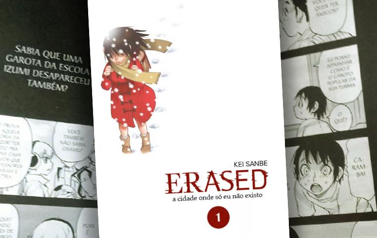 Crítica | Erased – Volume 1 (Editora JBC)