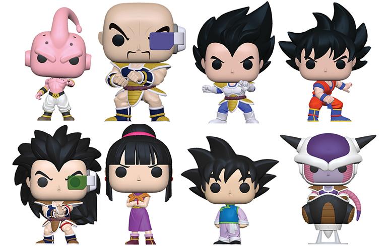 Funko anuncia novas figuras de Dragon Ball Z