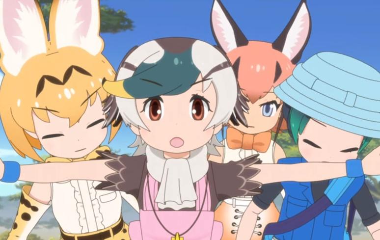 Kemono Friends 2: anime será exibido no Brasil pela Crunchyroll