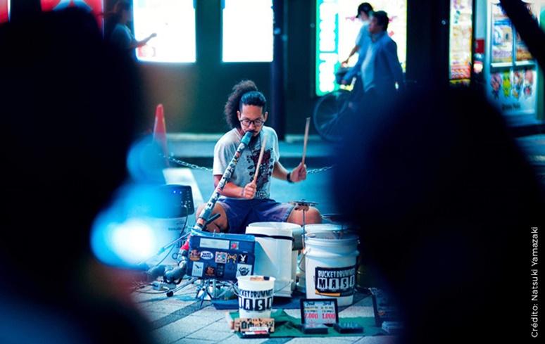 Baterista japonês Masa se apresentará este mês em São Paulo e no Rio de Janeiro
