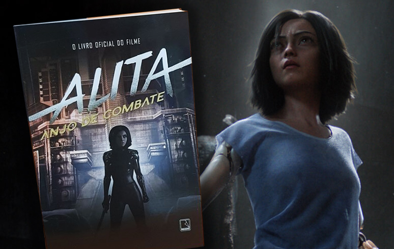 Editora Record lança livro baseado em 'Alita: Anjo de Combate'