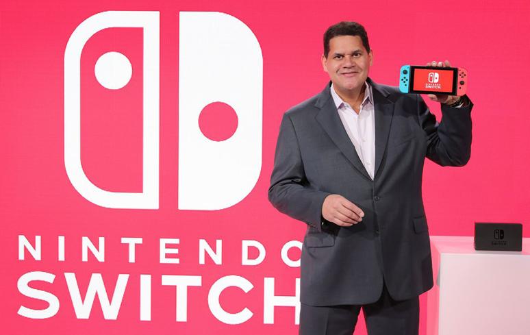 Reggie Fils-Aime, presidente da Nintendo of America, deixará a empresa em abril