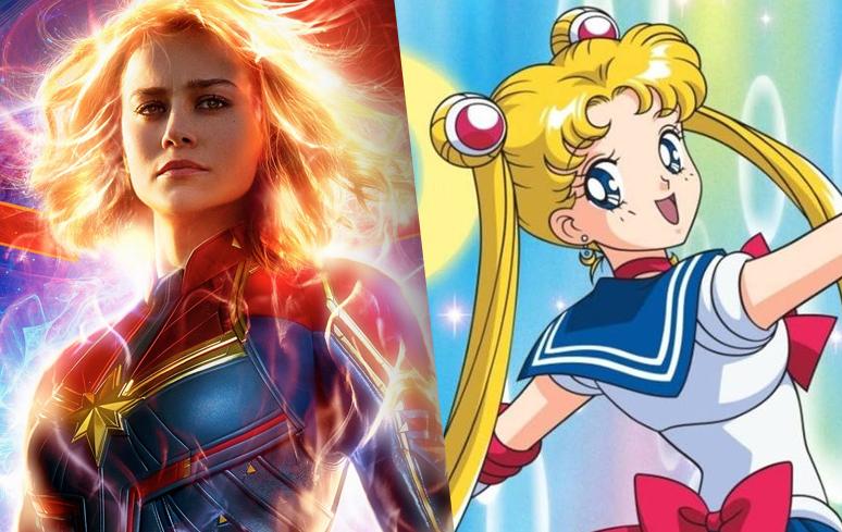 """Capitã Marvel fã de Sailor Moon: """"corria para não perder nenhum segundo"""", afirma a atriz Brie Larson"""