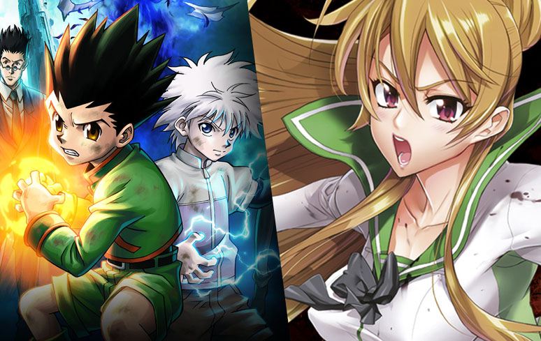 Filmes de 'Hunter X Hunter' e OVA de 'Highschool of the Dead' entram no catálogo do Prime Video