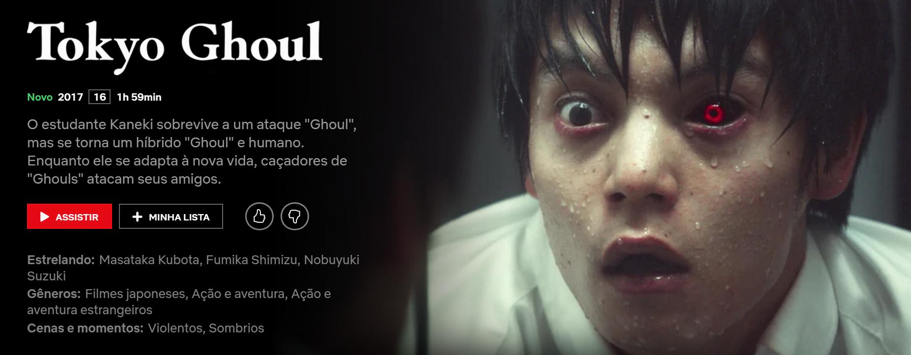 Tokyo Ghoul Re Netflix