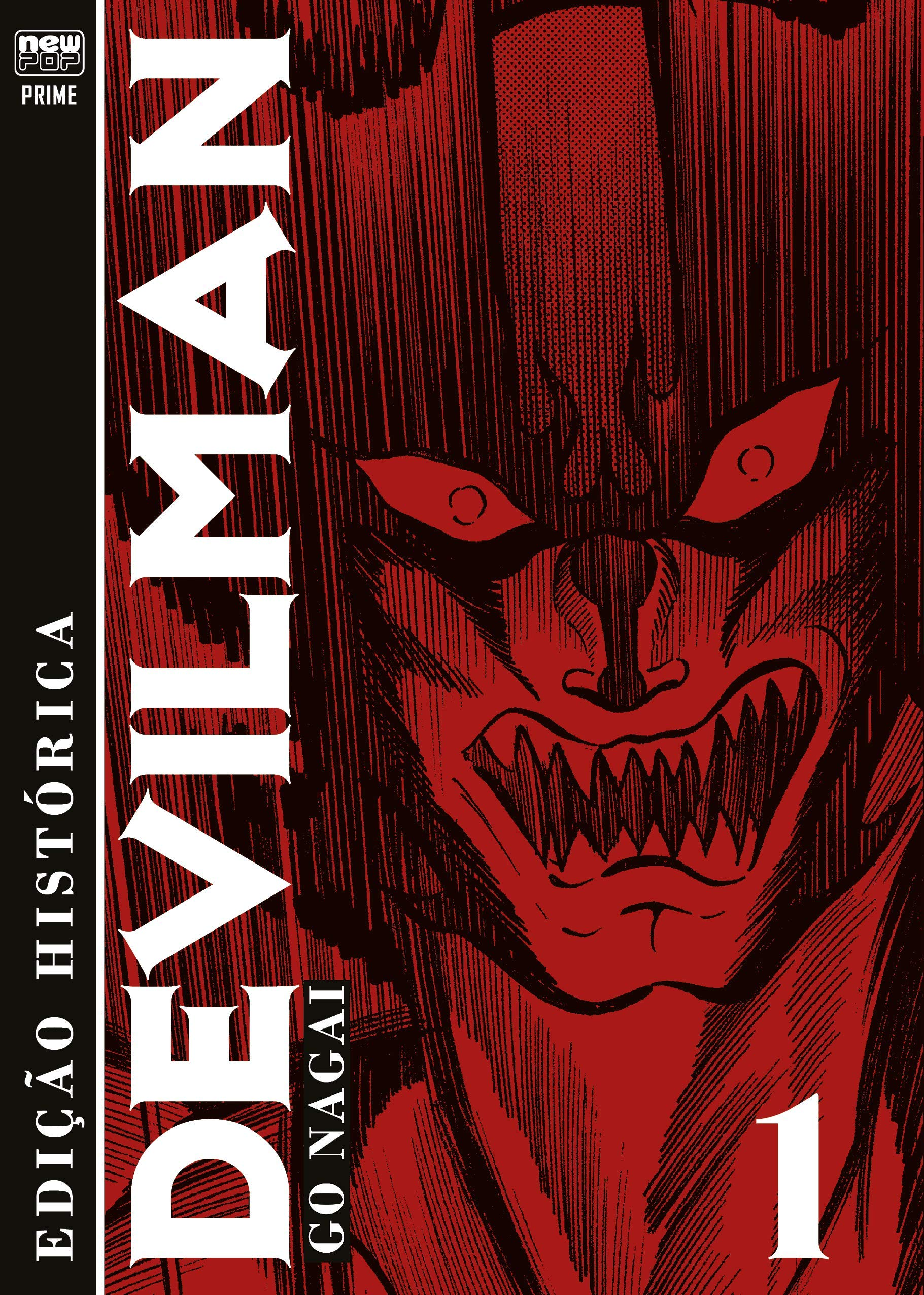 Devilman - Edição Histórica - volume 1 - Go Nagai testa os limites do mangá
