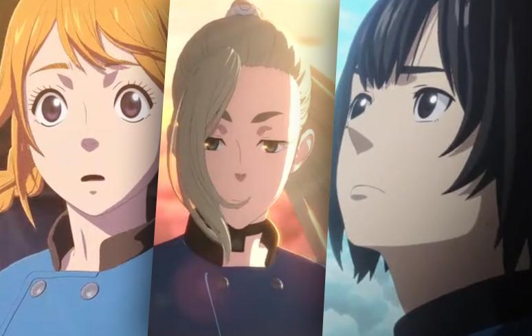 Drifting Dragons: com distribuição pela Netflix, anime ganha o primeiro teaser
