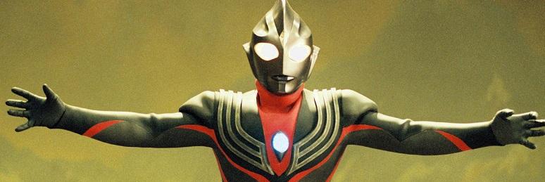 Imagem: O 'Ultraman Tiga'.