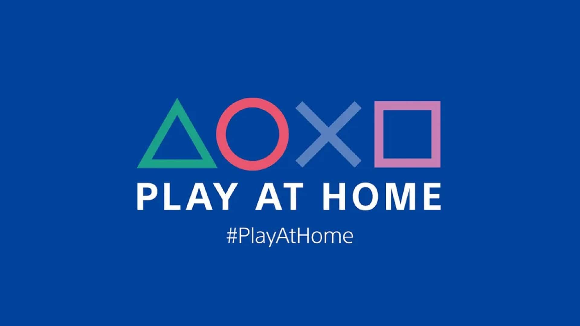 Imagem: Logo do Play at Home.